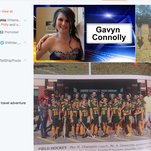 A collection of images posted to Twitter of Gavyn Connolly, the Timber Creek student who died after being struck by a car in Washington Township Sunday.