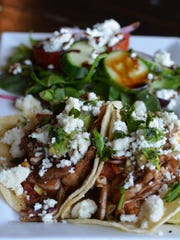 The new lunch menu (only available on Thursdays and Fridays) has delicious Cuban Tacos ($10).