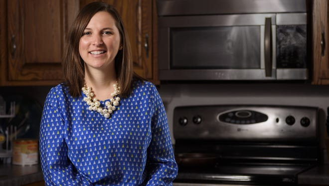 Rebecca Kellner mentors a mother of three through through CAP Services Project TEAM Family Mentoring Program.