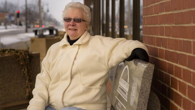 Hortonville's Bonnie Hagen volunteers with MindWorks, a memory-enhancement program operated by Lutheran Social Services in Appleton.