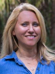 Busch Wildlife Sanctuary director Amy Kight