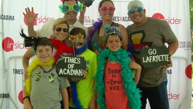 Times of Acadiana photo booth Sunday, April 24, 2016.