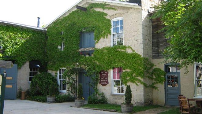 Cedar Creek Winery in Cedarburg.