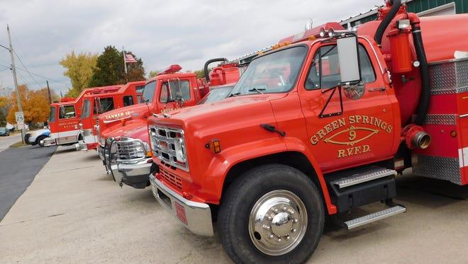 Green Springs Volunteer Fire Department.