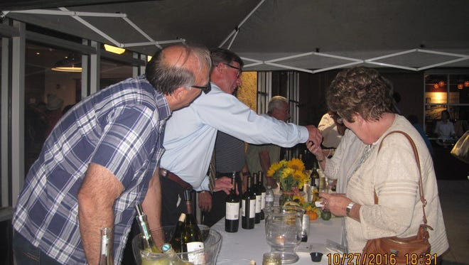 Soroptimist International hosted the First Annual Wine & Shop Event.