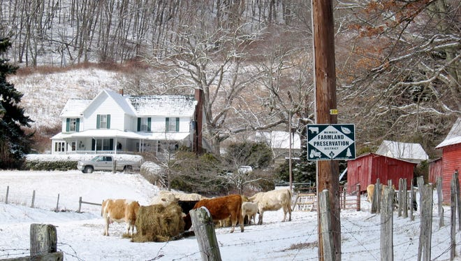 The Carender Farm in Banner Elk sits on land forever protected for farming. The land trust coalition Blue Ridge Forever recently secured a record $8 million for farmland protection in Western North Carolina.