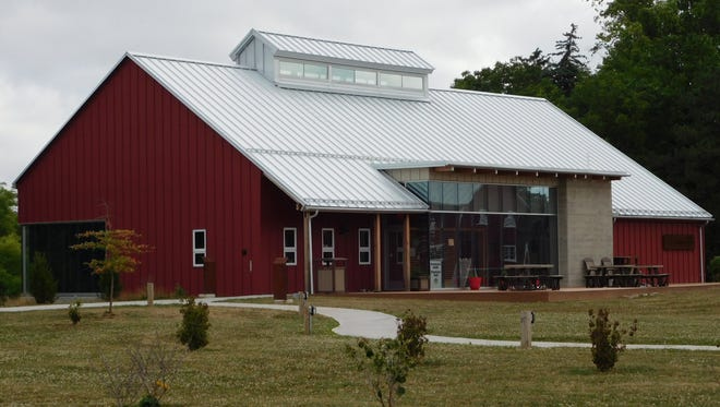 The Wilson Nature Center is located at Creek Bend Farm in Lindsey, Ohio.