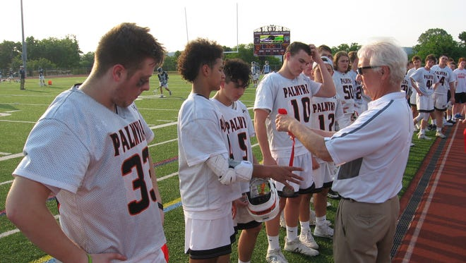 Palmyra had to settle for silver medals in the District 3-AA boys' lacrosse final.