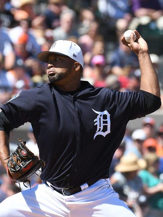 MLB: Spring Training-New York Yankees at Detroit Tigers