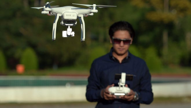 Eugene is considering banning drones from city parks.