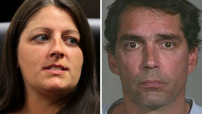 Mandy Boardman and David Wise. Left: rent Drinkut/The Star Right: IMPD