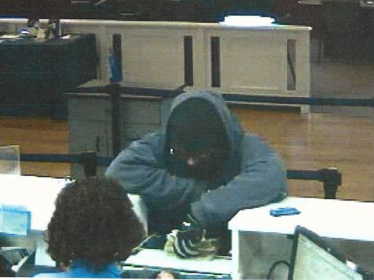 Norwood police are searching for this man after he allegedly robbed the U.S. Bank branch in Norwood Friday.