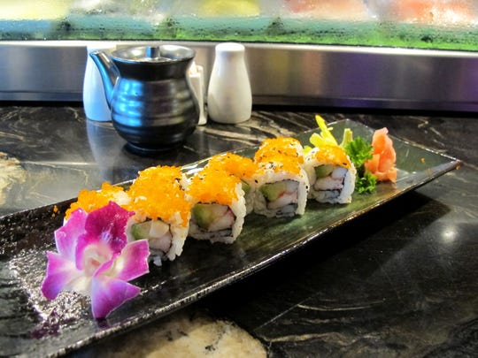 The California roll at the new Komoon Sushi Thai & Ceviche in North Naples.