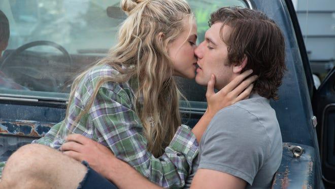 Gabriella Wilde, left, and Alex Pettyfer star in the romantic drama 'Endless Love.'