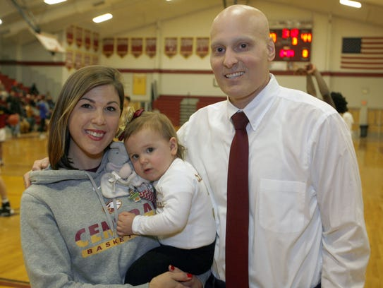 Central Regional boys basketball coach Mike Clemente