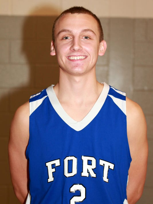 Brendan Crowe Fort Defiance boys basketball 2015