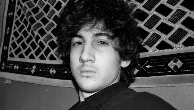 This undated photo provided by the vkontakte website shows Dzhokhar Tsarnaev.