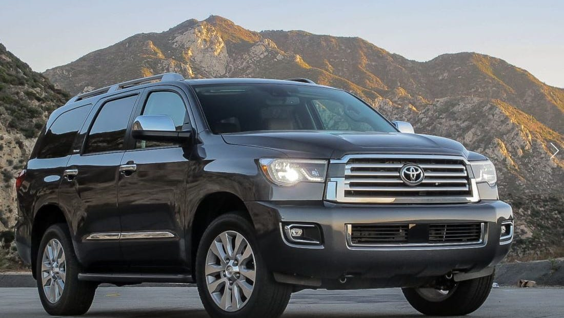 Review: Toyota Sequoia is becoming oldest tree in the forest