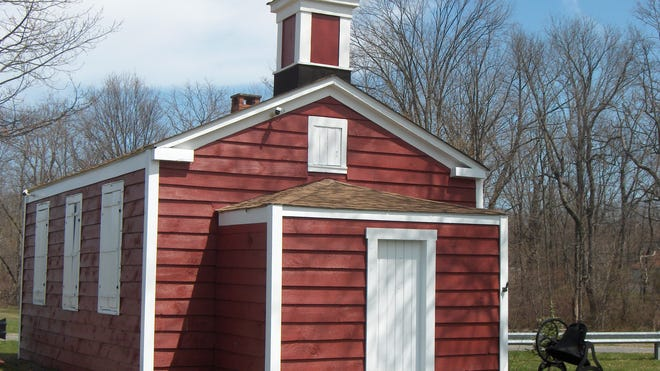 There will be an open house at the Little Red Schoolhouse in Hyde Park from 1-3 p.m. Sunday.
