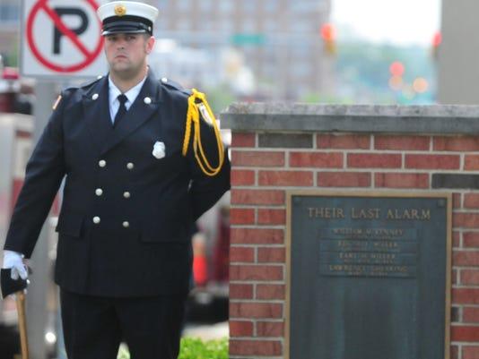 fire memorial service