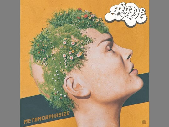 "Cover art for Bybye album ""Metamorphasize."""
