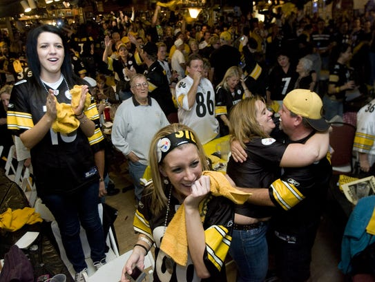"Harold's Cave Creek Corral is also officially known as ""Heinz Field West"" and is one of the biggest Pittsburgh Steelers bar in the nation."