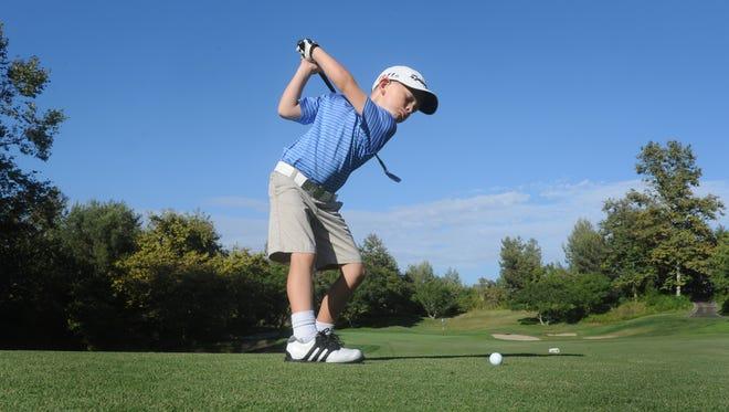 Adam Anderson of Ventura has won two Ventura County Junior Golf Association MiniTour tournaments this season.