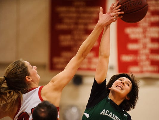 St. Johnsbury vs. CVU Girls Basketball 01/09/18