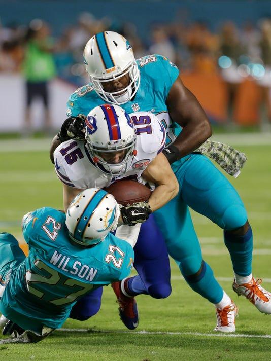 Miami on defense