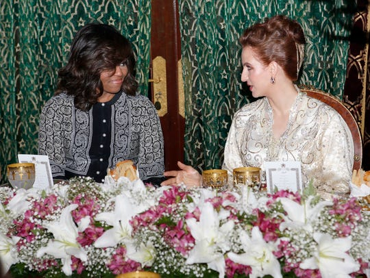 Morocco's Princess Lalla Salma, wife of King Mohammed