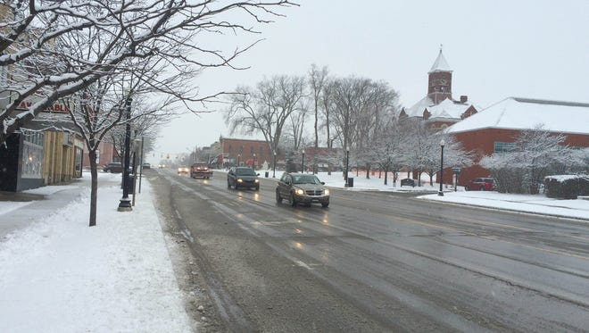 An estimated 2.6 inches of snow fell in the Howell area late Monday and early Tuesday morning, according to the National Weather Service.