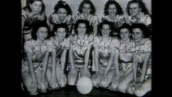 Montezuma High School girls 1969 state champions