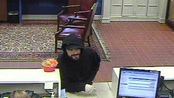 Police released this picture of the man who robbed a Chase Bank in Wheatland on Friday.