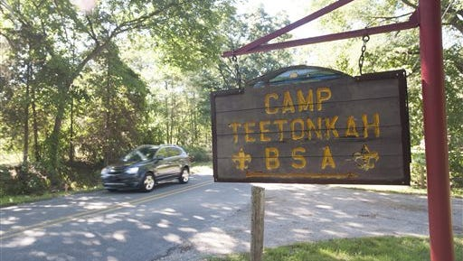 Camp Teetonkah on Monday, August 22, 2016. Camp Teetonkah was announced as one of five Michigan Boy Scout camps to be shut down by the end of 2016. Both Jackson County Parks and Friends of Camp Teetonkah, a nonprofit group of scouting volunteers and local nonprofit groups, have expressed interest in the property.