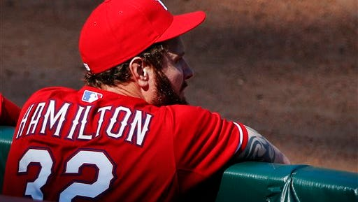 The Texas Rangers have put Josh Hamilton on unconditional release waivers.