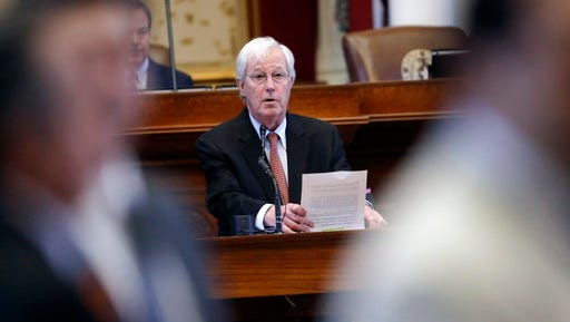 Republican state Rep. Charlie Geren, who leads the House Administration Committee, refused to answer questions about how his committee would handle a sexual harassment complaint because, he said, the committee had not received any.