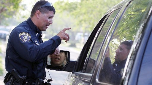 Corpus Christi police Senior Office Tommy Cabello, a 20-year veteran of the force, has faced allegations of violence before.