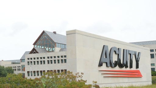 Acuity Insurance says it plans to hire more than 100 employees in 2018.