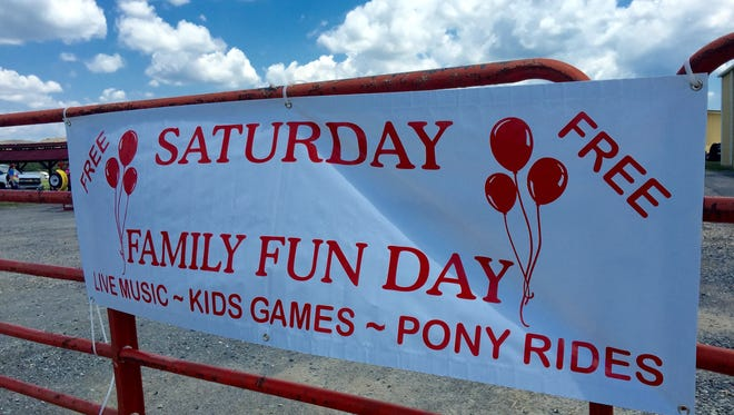 Not only is the event free, Family Fun Day allows families to enjoy a day of free pizza, hot dogs, cotton candy, snow cones and popcorn while playing games and enjoying horse rides.