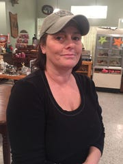 Lisette Wilson, co-owner of Dave and Rita's Farm Market in the town of Romulus, Seneca County, New York