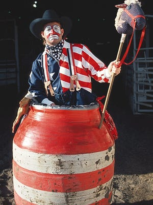 """Rodeo entertainer Flint Rasmussen of Choteau was highlighted on """"This American Life."""""""