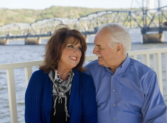 Willard and Joyce Harley on retirement