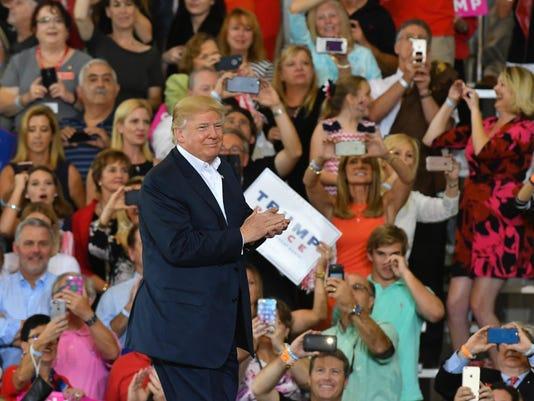 Donald Trump in Melbourne