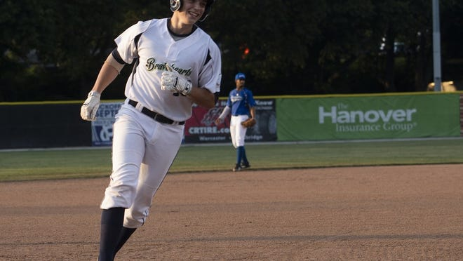 The Bravehearts' Ben Rice hit his fourth home run of the season on Tuesday night.