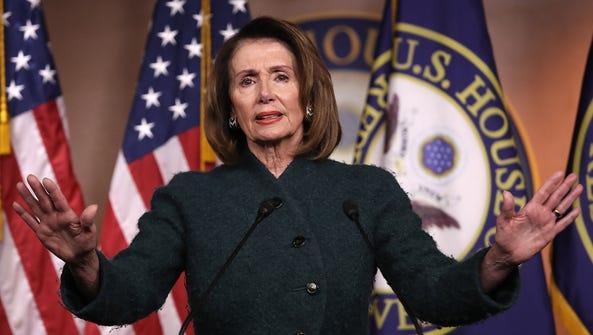 House Minority Leader Nancy Pelosi is used to legislating.