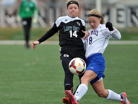 Clear Fork's Brittney Hart and Ontario's Bria Meisse are two of the top returning players in 2018.