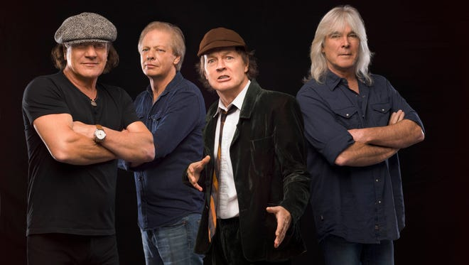 AC/DC is back with 'Rock or Bust.'