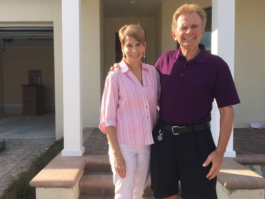 James and Donna Aveck expect to move into their Babcock Ranch home in mid-January.