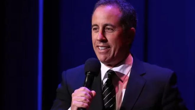 Jerry Seinfeld is one of three comedy stars hitting northeast Wisconsin venues this weekend.