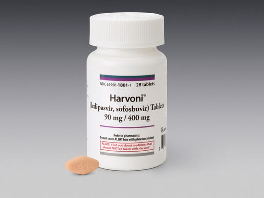 Harvoni, a daily pill that can cure the most common